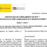 ¿Qué es la certificación GMP?