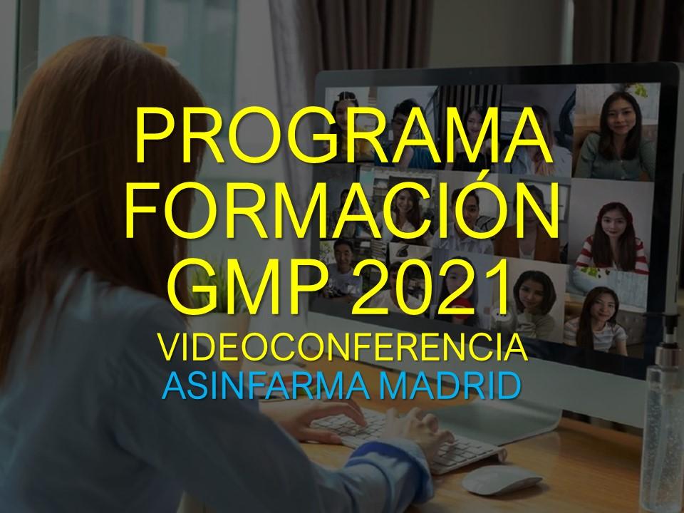Formación GMP 2021